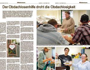 Artikel in der Wilhelmshavener Zeitung vom 19.10.2019